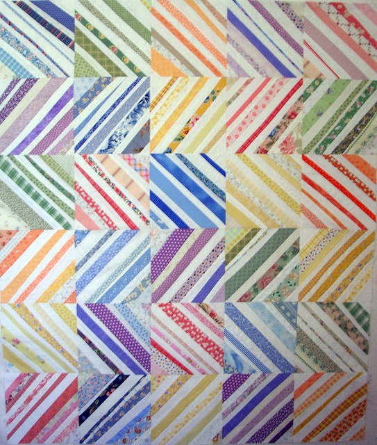 Quilt Patterns Using Stripe Fabric : Striped Fabric Quilts - a gallery on Flickr