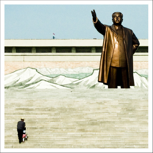 Let's go to pay respect to Eternal President Kim Il Sung - North Korea
