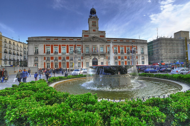 Madrid a gallery on flickr for Puerta del sol web