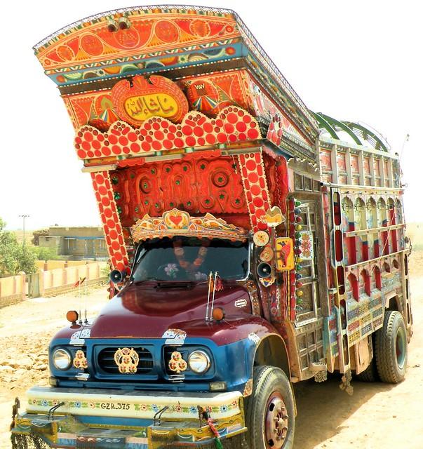 Pakistani Truck Art - Pakistan