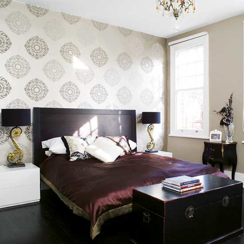 Asian Inspired Bedroom: Photo