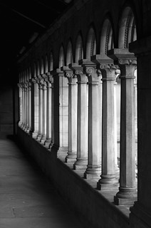Abbey Pillars