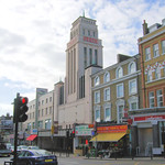 Former Gaumont State Cinema, Kilburn High Road, London.