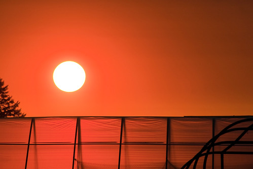 sunset orange sun night oregon evening haze fair nighttime skyshots stayton colororangered