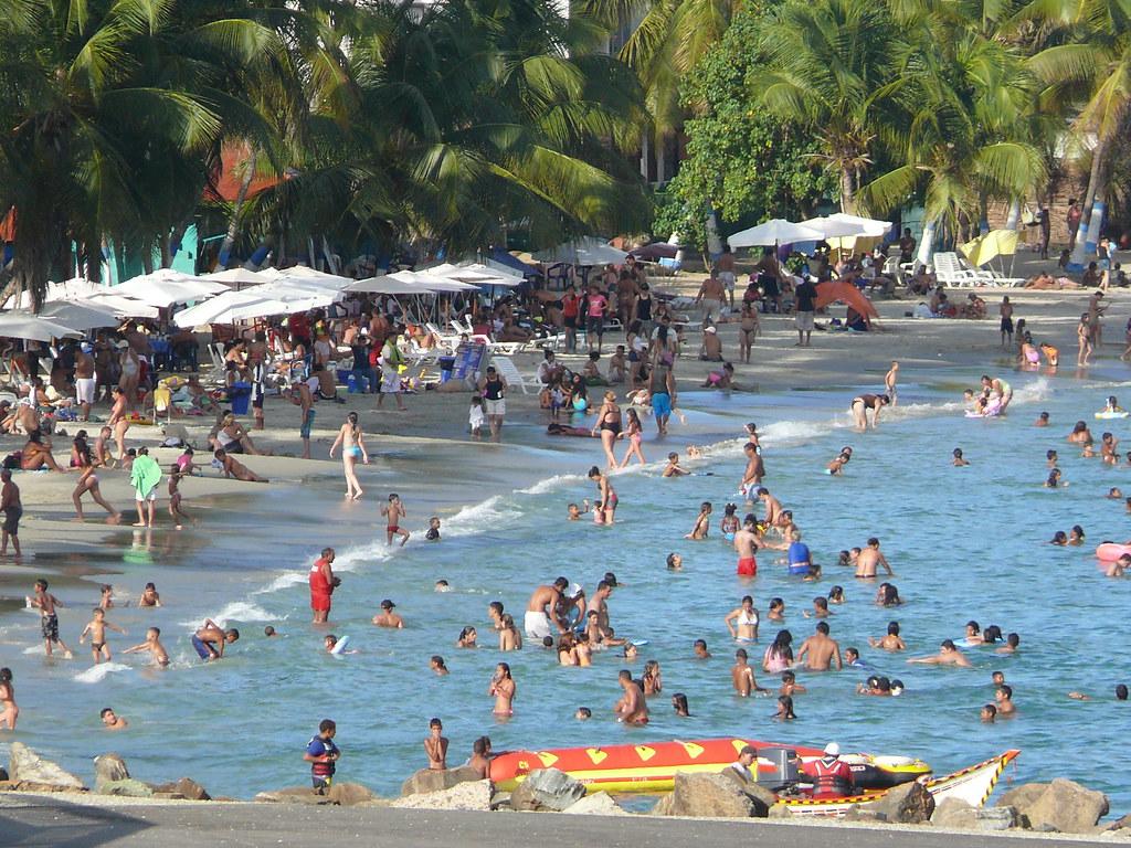 Playa de Pampatar,Isla de Margarita,Estado Nueva Esparta,Venezuela