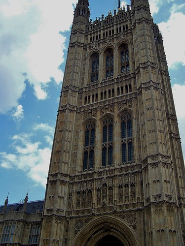 House of Parliament, London, England - August 2009