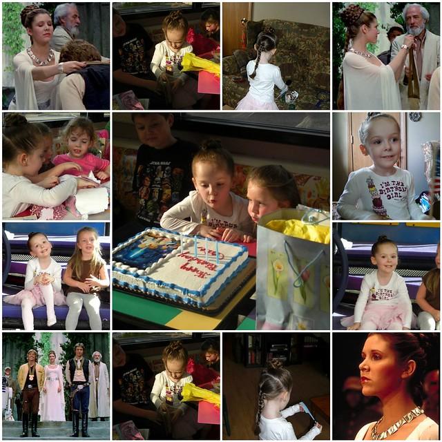 Princess Leia Birthday Decoration