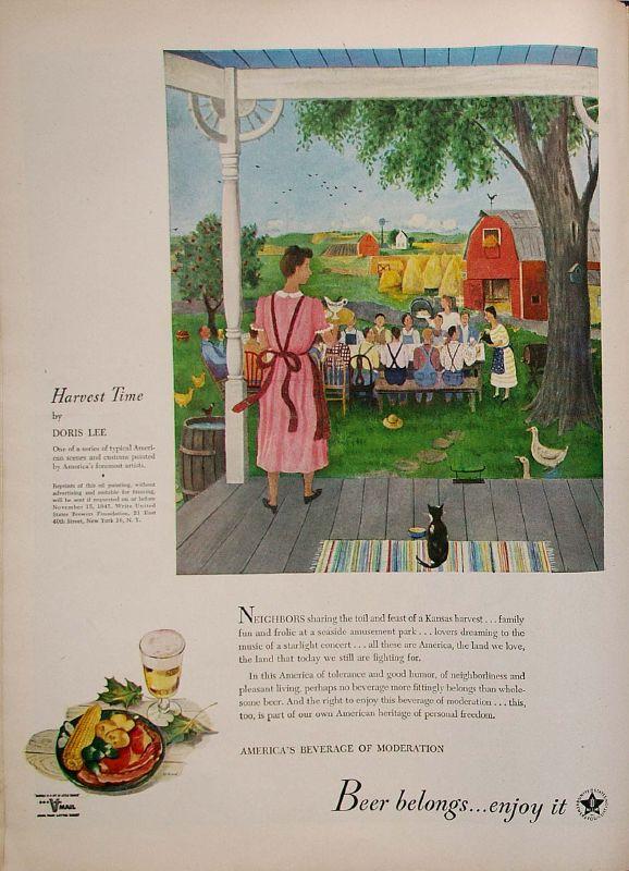 Harvest Time by Doris Lee, 1945