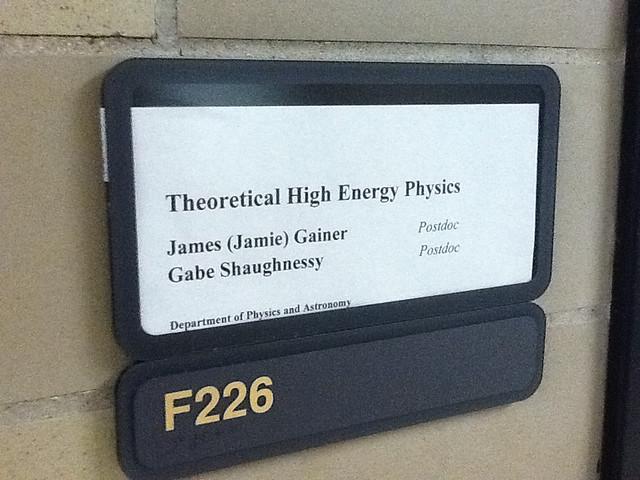 Header of high energy physics