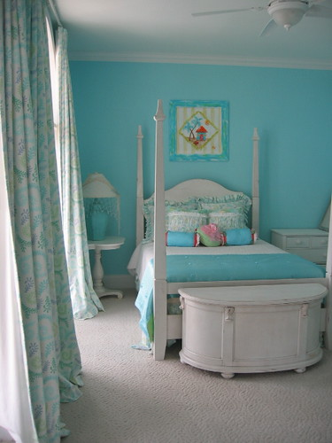 Turquoise Bedroom by Posh Living, LLC