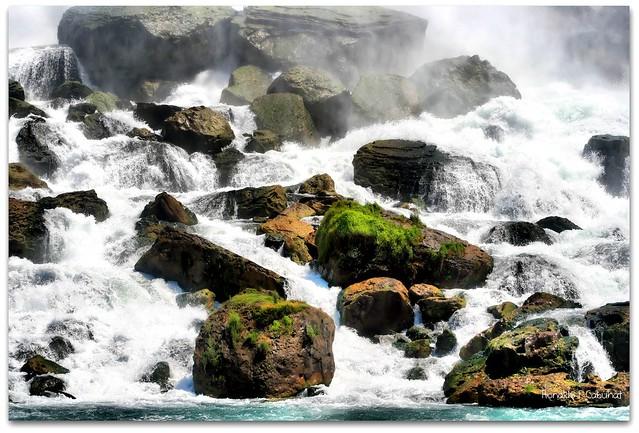 The Rocks At Niagara Falls