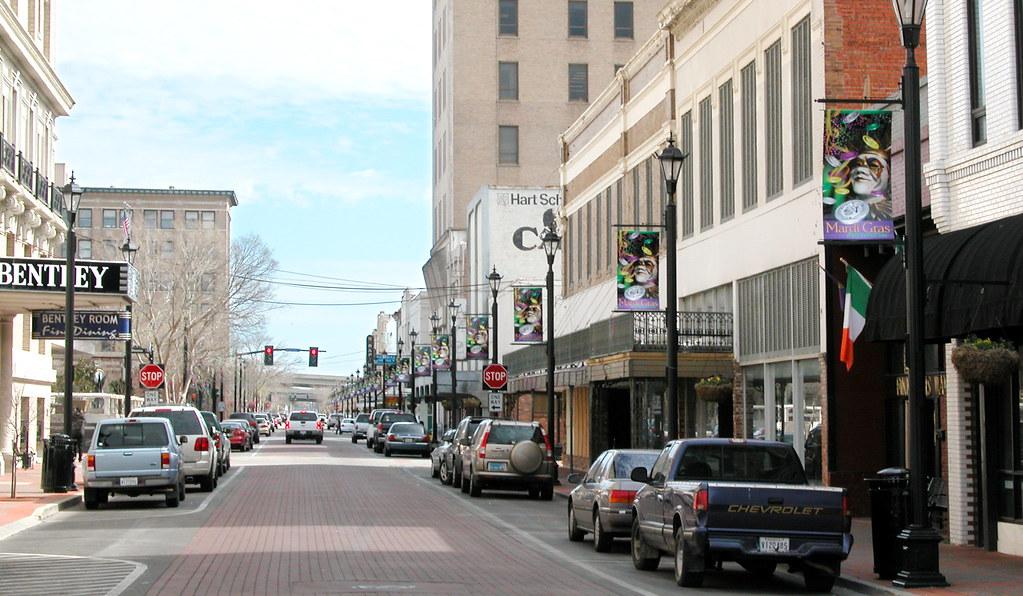 Downtown Alexandria, Louisiana