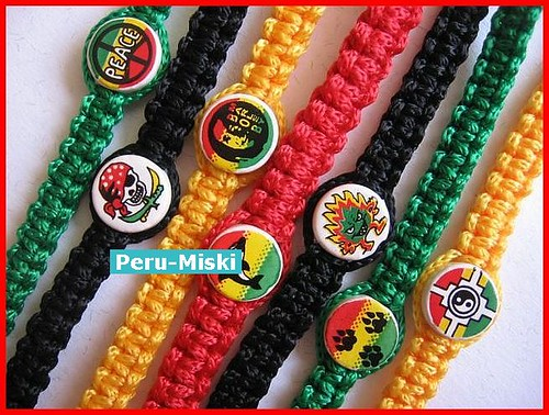 Rasta Friendship Bracelets