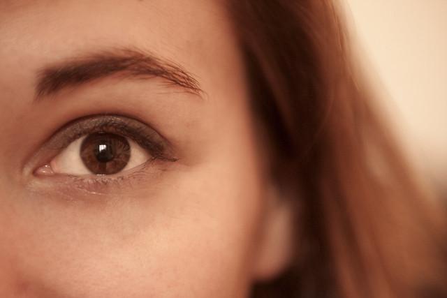 Eye of an angel