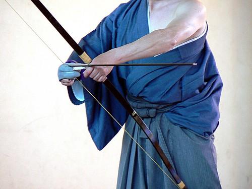 La flèche du sensei