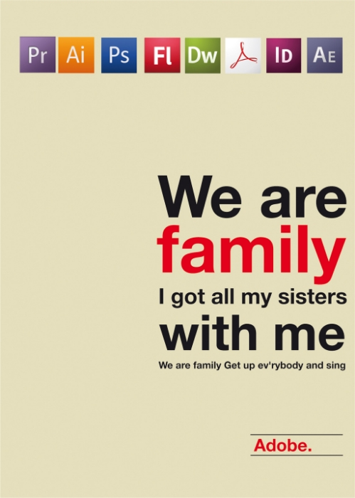 We are family / Adobe