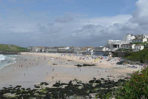Porthmeor Beach From Mans Head