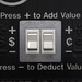 Small photo of Press - to Deduct Value