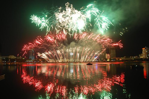 Danang Firework Competition - Chinese show