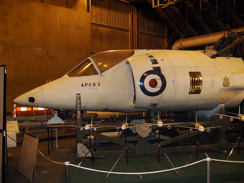 Harrier XV798 nose