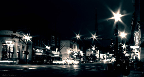 street city blackandwhite night downtown traffic nashville broadway musiccity thechallengefactory