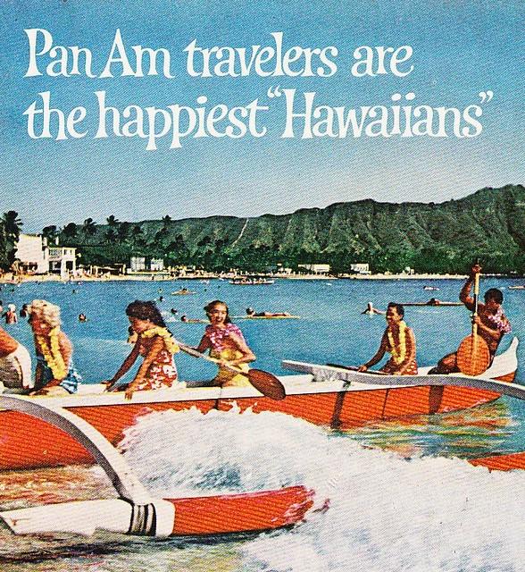 Pan Am Hawaii Ad 1962