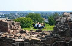 Tunsberghus ruins