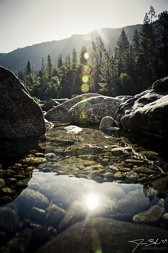 Morning over Tuolumne River