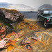 Land Rover in Bromo