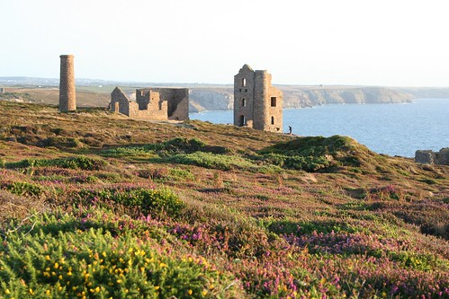 Wheal Coates Tin Mine, near St.Agnes by Stocker Images