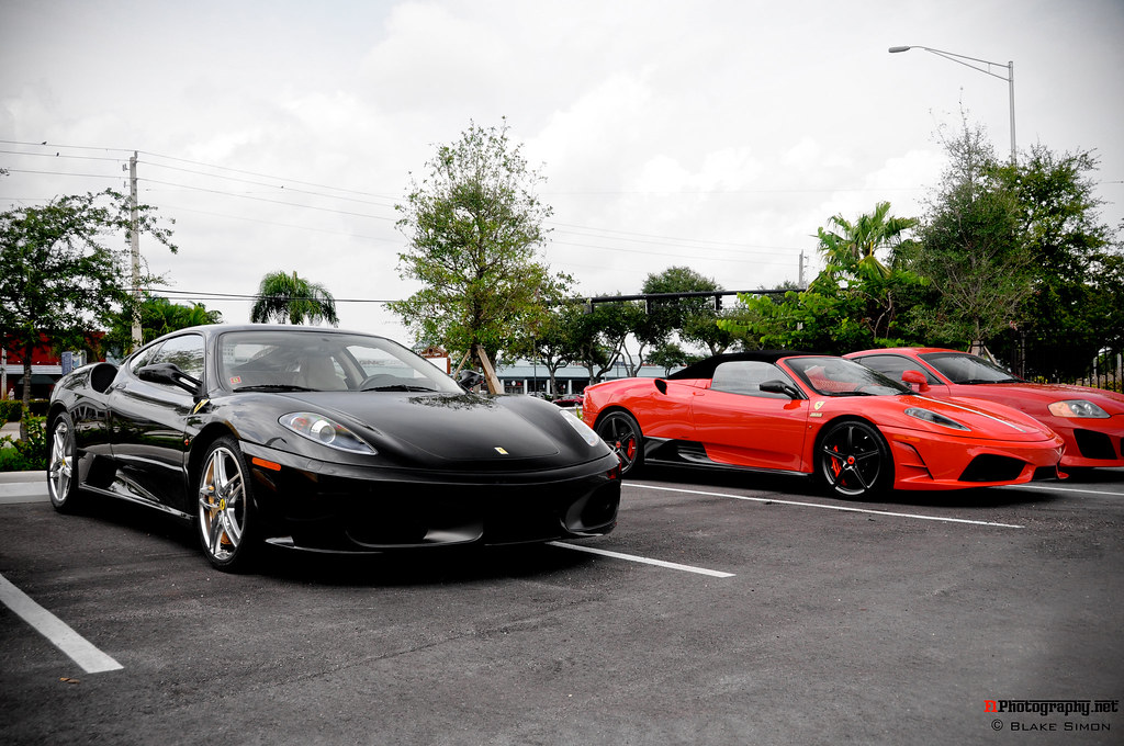 Cars And Coffee Ferrari Fort Lauderdale Pics