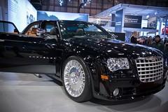 automobile, automotive exterior, exhibition, wheel, vehicle, automotive design, auto show, chrysler 300, sedan, land vehicle, luxury vehicle,