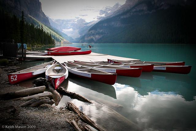Boat House Lake Louise
