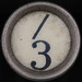 typewriter key / 3