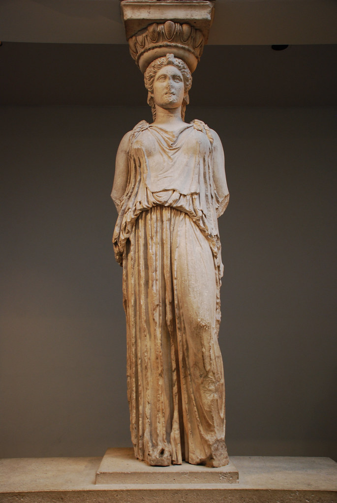 Caryatid from the Erechtheion | Flickr - Photo Sharing!