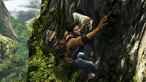 Uncharted: Golden Abyss - Climb Drake, climb!
