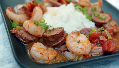 Simple Shrimp and Grits   Flickr - Photo Sharing!