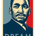 Shepard Fairey Inspired MLK Dream T-shirt