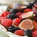 Fruit Bowl with Berries and Black Mission Figs 1
