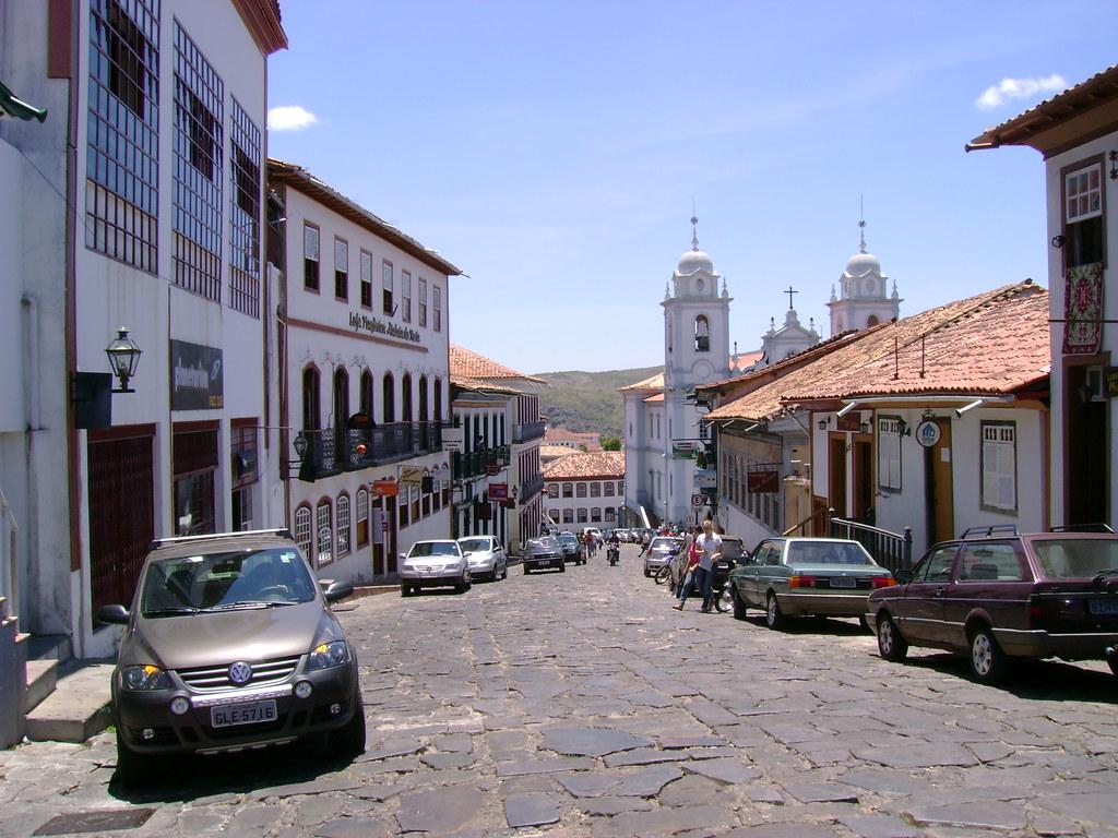 Brasil Minas Gerais City Diamantina Gildaziogil Flickr