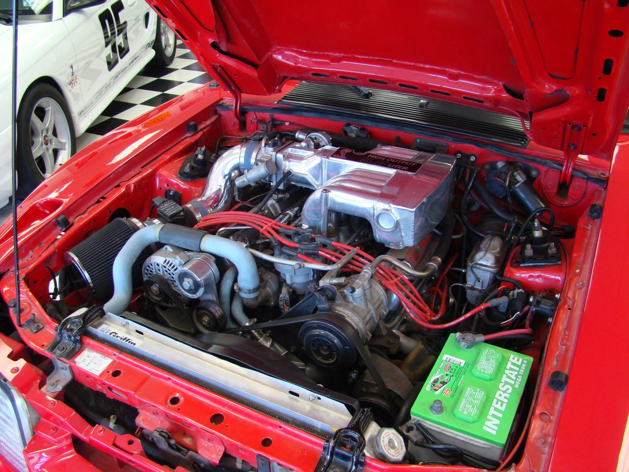 JBA Team Dominator GTA 5.8L Engine Bay