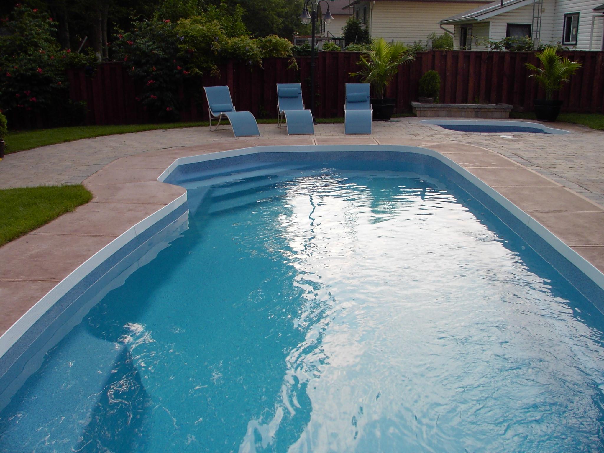 Carmel 45c viking pools custom design 4 ever pools for Viking pools