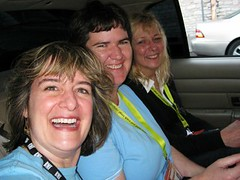 SXSWi geek women cab ride