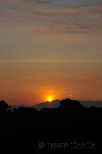 sunrise indonesia dawn westjava nikkor d300 teeje