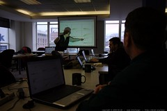 Ed Borasky presenting an Introduction to R, Statisti…