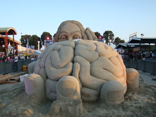 Sand Sculpture at the OC Fair 071909