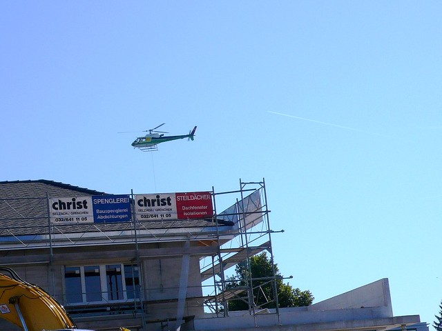 Helicopter over Feldbrunnen
