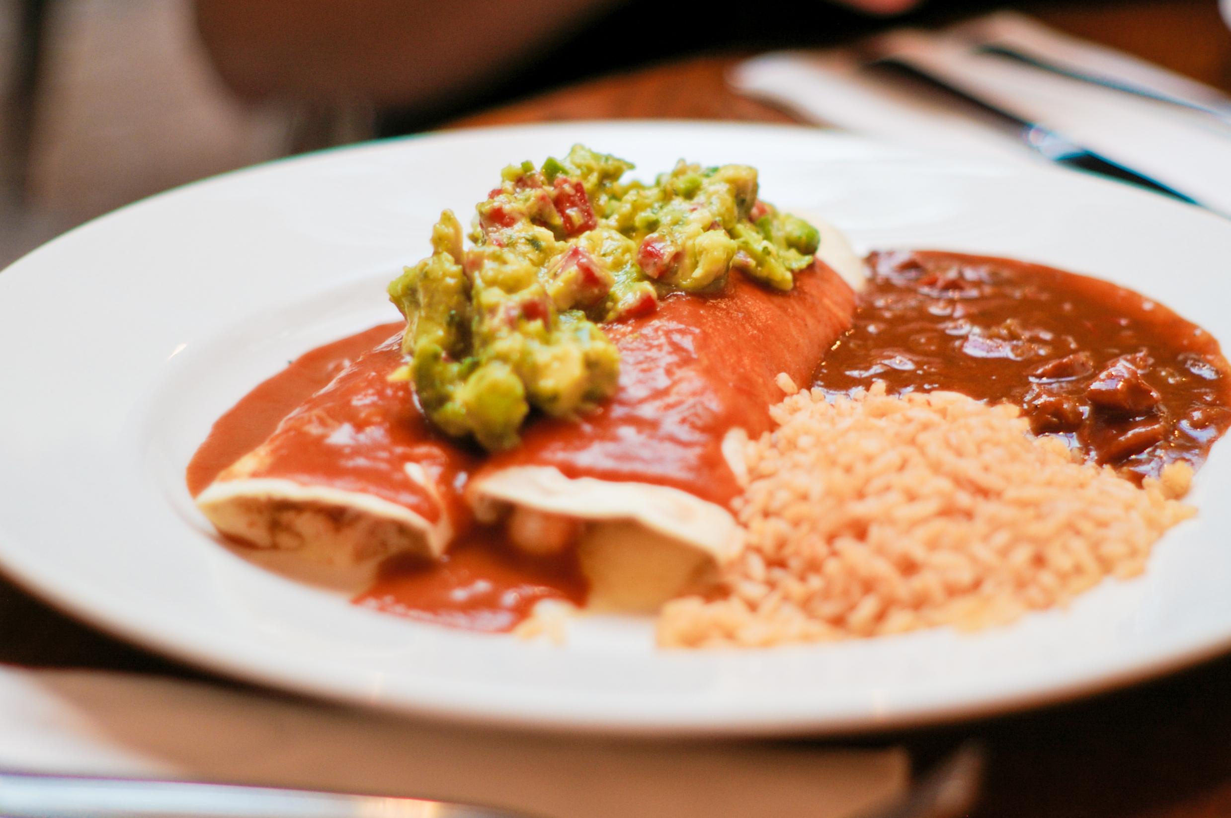La Perla Mexican Restaurant Menu