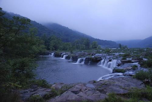 waterfall wv slowshutter sandstonefalls