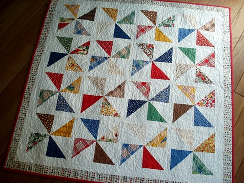 Quilt Pattern For Pinwheels : Happy Campers Pinwheel quilt Flickr - Photo Sharing!